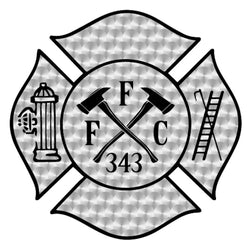 FFC 343 Firefighter Decal