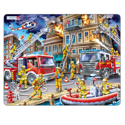 Future Fire Fighter Jig Saw Puzzle for Children