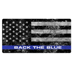Back the Blue American Flag Decal
