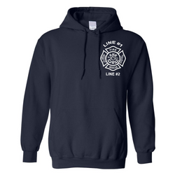 Customized Fire Rescue Hoodie