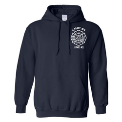 Customized Fire Department Hoodie