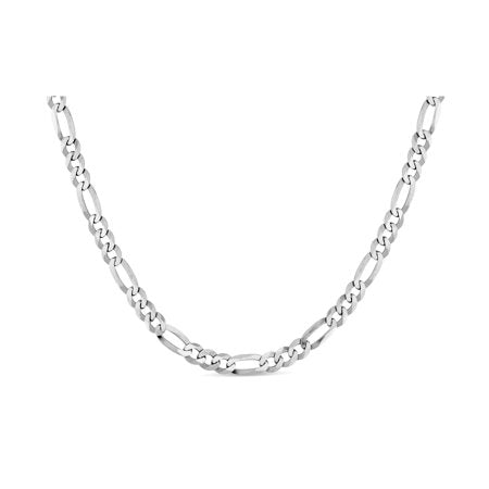 Figaro 100 Sterling Silver Chain