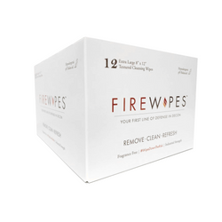 FIRE WIPES DECON Wipes BOX of 12 WIPES