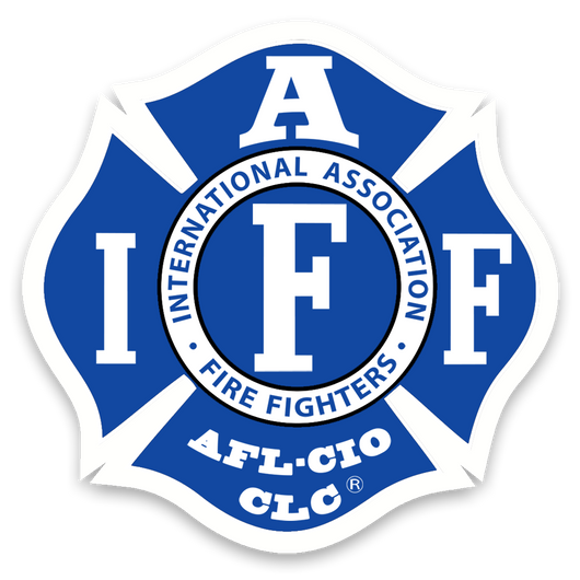 IAFF Team Royal Blue and White