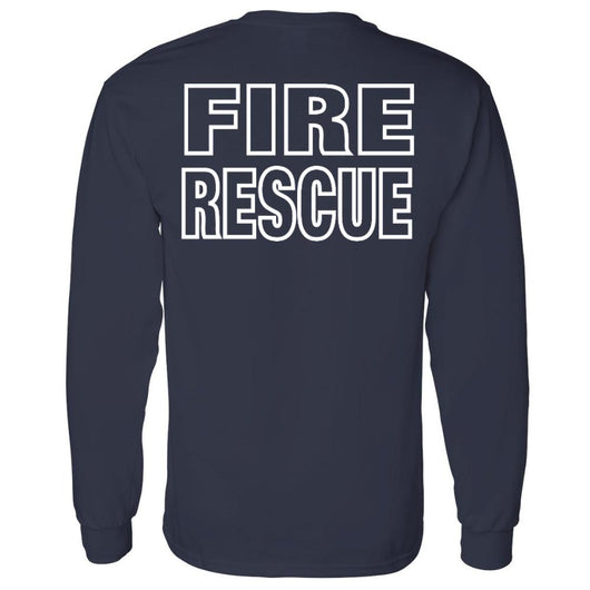 Fire Rescue Duty Shirt in Navy