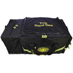Customized Black 3XL Turnout Gear Bag