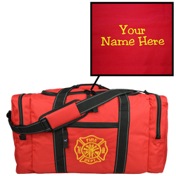Customized Red Value Step-In Gear Bag