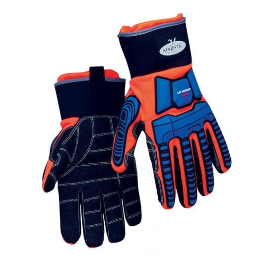 MajFire Oil and Gas Extrication Gloves with Blood-Borne Pathogen Liner