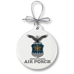 Air Force USAF Missile Ornament