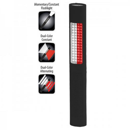 Nightstick LED Safety Light / Flashlight in Alternating Red/White