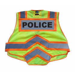 POLICE UltraBright 6-Point Breakaway Public Safety Vest Orange