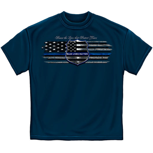 Honor The Lives Police Tshirt