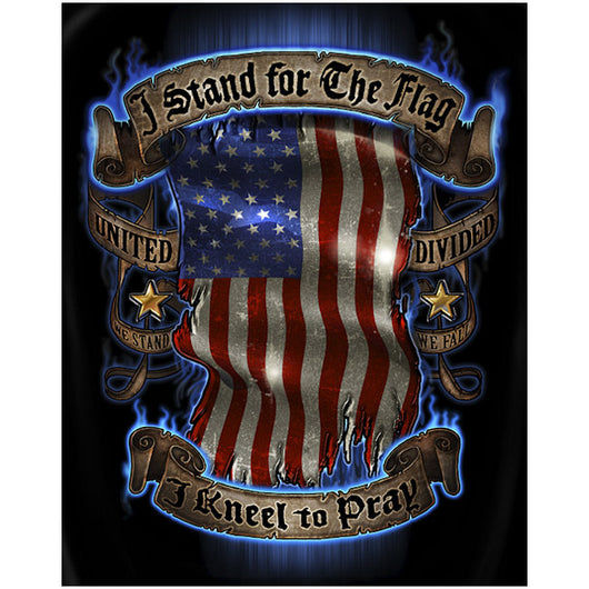 Stand for The Flag Kneel to Pray Tshirt