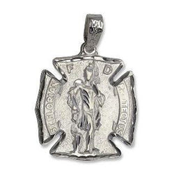 Sterling Silver St Florian Charm Firefighter Gifts