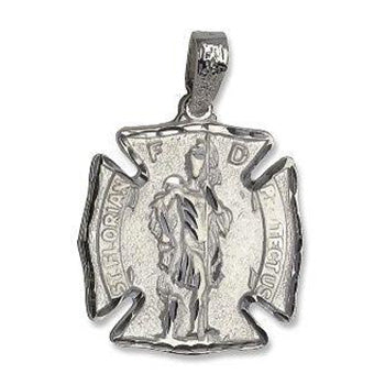 Sterling Silver St Florian Charm