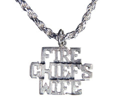 Fire Chiefs Wife Charm