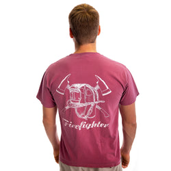 Firefighter Acid Wash T-shirt