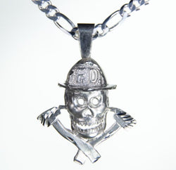 Silver Firefighting Extreme Charm
