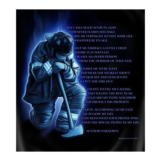 Firefighters Prayer Tshirt