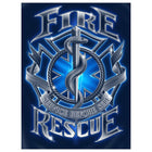 Fire Rescue Service Before Self Tshirt