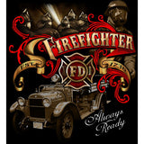 Always Ready Firefighter T-shirt