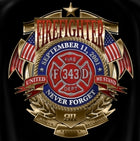 Firefighters Never Forget T Shirt