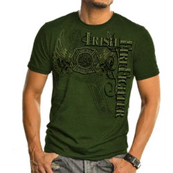 Irish Firefighter Elite Breed Tshirt