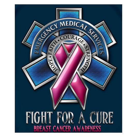 EMS Fight For A Cure T-shirt