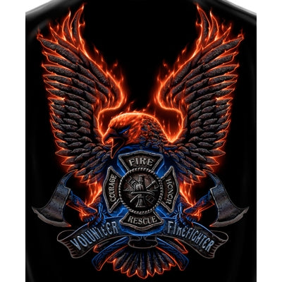 Volunteer Fire Eagle Tshirt