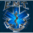 EMT On Call For Life T-shirt
