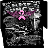 Armed Forces For the Cure Tshirt