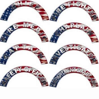 All Positions Flag Helmet Crescent Decals