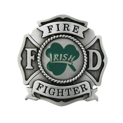 Irish Firefighter Belt Buckle