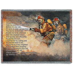 Firefighters Prayer Throw