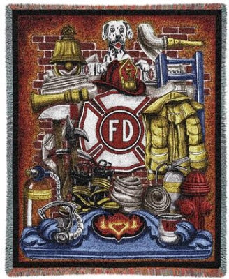 Firemans Pride Throw