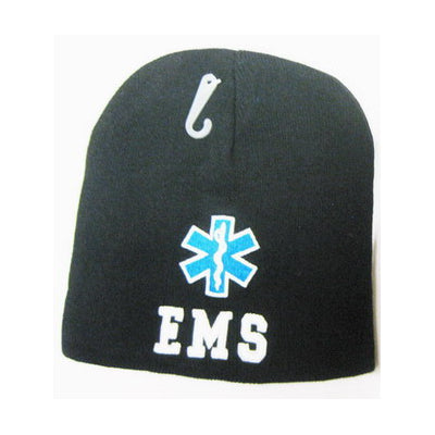Black Star of Life EMS Beanie