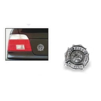 Pewter Maltese Cross Car Emblem