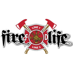 Custom Fire Life Decal