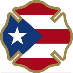 Puerto-Rico Flag Decal