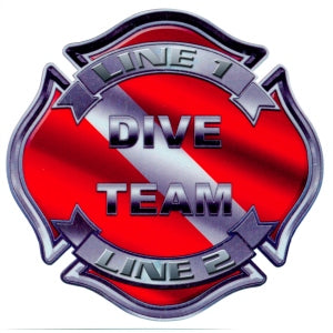 Custom Dive Maltese Decal
