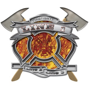 Custom Firefighter Decal