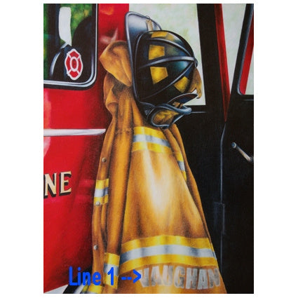 Fire & EMS Custom Awards, Plaques & Artwork