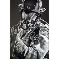 Customized Print Firefighter Axe