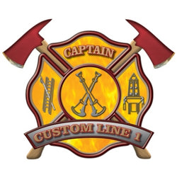 Custom Rank Decal - Captain