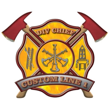 Custom Rank Decal - Div Chief
