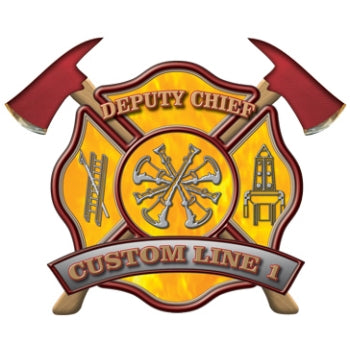 Custom Rank Decal - Deputy Chief
