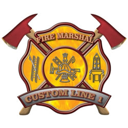 Custom Rank Decal - Fire Marshal