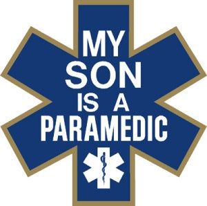 My Son is a Paramedic Decal