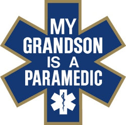 My Grandson is a Paramedic Decal