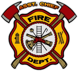 Asst. Chief Decal